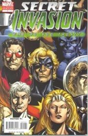 Secret Invasion Who Do You Trust 2nd Print Variant One Shot (2008) Marvel comic book